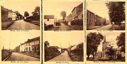Bovesse - Lot De 3 Cartes à 2 Vues (Rues Station, Ruisseau, Eglise..Ecoles) - La Bruyère