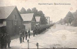 Brasschaet-Polygone - Vue Au Front De Bandière (animée, 1914)...pour Mr Jules Pirson, Ardoisier - Brasschaat