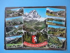 Saluti Dalla Valtournanche - Vedutine Chatillon Torgnon Boisson Chamois Lago Di Lod Antey St. Andre Cheneil 1975 - Unclassified