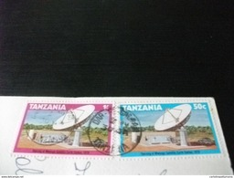 STORIA POSTALE FRANCOBOLLO COMMEMORATIVO  TANZANIA WOOD CARVING EBONY CARVER - Tanzania