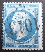 LOT R1494/87 - NAPOLEON III N°22 - GC 1013 LE CHEYLARD (Ardèche) INDICE 4 - 1862 Napoleon III