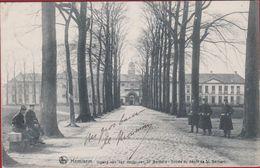Hemixem Hemiksem Ingang Van Den Depot Van St. Bernard Entree Du 1907 Afgestempeld TOPKAART ZELDZAAM Armee Belge Military - Hemiksem