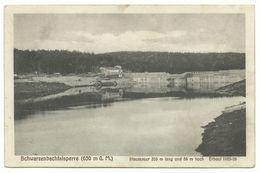 Schwarzenbachtalsperre Staumauer Kantine Robert Kraft Um 1930 - Germany