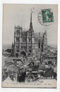 AMIENS EN 1915 - N° 60 - VUE GENERALE PRISE DU BEFFROI - BEAU CACHET - CPA VOYAGEE - Amiens