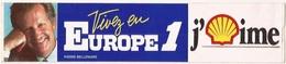 Autocollants Stickers Thème Radio Europe 1 Pierre Bellemare - Autocollants