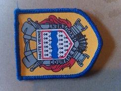 Ecusson Velcro SDIS Haute Vienne Sapeur-pompier - Firemen