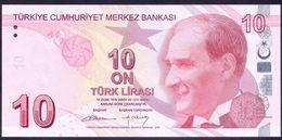 Turkey 10 Lirasi 1970 / 2009 UNC    # 223b - Turchia
