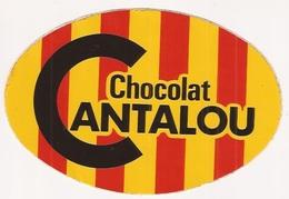 Autocollants Stickers Chocolat Cantalou - Autocollants