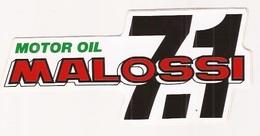 Autocollants Stickers Malossi Motor Oil  7.1 - Autocollants