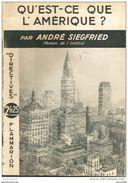 Qu'est-ce L'Amérique ? Par ANDRE SIEGFRIED - Flammarion - Livres, BD, Revues