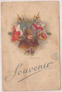Carte Postale Militaria Souvenir - Patriotiques