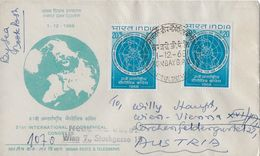 INDIA → 21. International Geographical Congress From Bombay To Wien 1968 - Inde