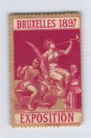 Exposition 1897 Bruxelles ** MNH - Commemorative Labels