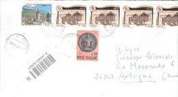 Italia  2008 Busta  Viaggiata  Italia Con Bolli Ord.Prioritaria Raccom... See Scan - 6. 1946-.. Repubblica