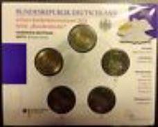 Allemagne 2011 : 2€ Commémoratives ´Cathédrale De Cologne´ (lot Des 5 Ateliers A/D/F/G/J En BU) - Alemania