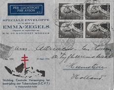 INDIA → AIR MAIL Letter From Batavia To Holland 1934 - Inde