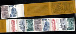 Svezia Sweden Schweden Suede 1980 Booklet Carnet Tourism In Halsingland  5v X 2 Complete Set   ** MNH - Svezia