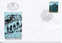 YUGOSLAVIA - 1978 MOUNTAIN CLIMBING  FDC423 - 1945-1992 Repubblica Socialista Federale Di Jugoslavia