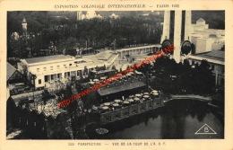 Vue De La Tour De L'A. O.F. - Exposition Coloniale Internationale Paris 1931 - Exposiciones