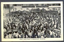 1963 NACIONES UNIDAS , DELEGACION DE NUEVA YORK , THE NATION´S MARKET PLACE , TARJETA POSTAL CIRCULADA - Postales