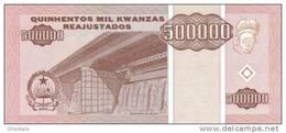 ANGOLA P. 140 500000 K 1995 UNC - Angola