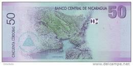 NICARAGUA P. 203 50 C 2007 UNC - Nicaragua