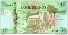 COOK ISLANDS  P. 8a 10 D 1992 UNC - Cook