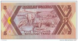 UGANDA P. 27 5 S 1987 UNC - Ouganda
