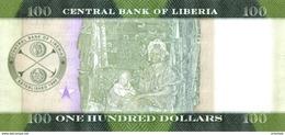 LIBERIA P. 35 100 D 2016 UNC - Liberia
