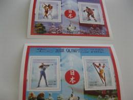 Madagascar-1997-OLYMPICS-winter Olympics Nagano 98-,bl.272A,B - Madagascar (1960-...)