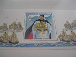 Madagascar-1997-famous People-Zheng He--BL.271 - Madagascar (1960-...)
