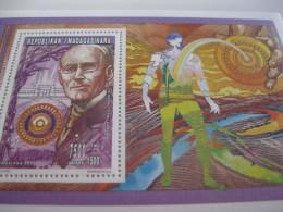 Madagascar-1996-famous People-Rotary, Paul Harris-BL.L 269A - Madagascar (1960-...)