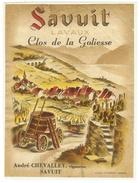 Rare // Etiquette // Savuit, Clos De La Goliesse, André Chevalley, Savuit, Vaud // Suisse - Etiquettes