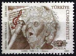 Turkey 1993 - Neyzen Tevfik Kolaylı, Poet ( Mi 2995C - YT 2743 ) - 1921-... República