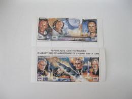 Central Africa-1994-space-moon Landing-Armstrong-MI.1633-38 - Centrafricaine (République)