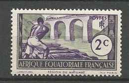 AEF N° 34 NEUF** LUXE SANS CHARNIERE / MNH - A.E.F. (1936-1958)