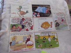 LOT DE 7 CARTES ILLUSTRATIONS ...SIGNE ALEXANDRE - Cartoline