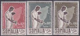 Somalia Scott 207-209 1956 First Elected Legislative Assembly, Mint Never Hinged - Somalia (AFIS)
