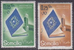 Somalia Scott 228-229 1959 Constituent Assembly Opening, Mint Never Hinged - Somalië (AFIS)
