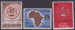 Somalia Scott 236-238 1960 University Institute Inauguration, Mint Never Hinged - Somalia (AFIS)
