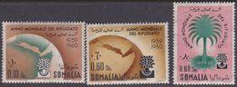Somalia Scott 239-241 1960 World Refugee Year, Mint Never Hinged - Somalia (AFIS)