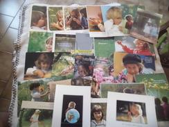 LOT DE 25  CARTES ENFANTS ...ET POESIE ..MESSAGES - Cartes Postales