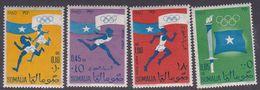 Somalia Scott 248-249 +C73-74 1960 Rome Olympic Games, Mint Never Hinged - Somalia (AFIS)
