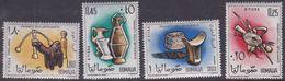 Somalia Scott 258-259 + C82-83 1961 Pottery, Mint Never Hinged - Somalia (AFIS)
