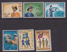 Somalia Scott 265-268 + C87-88 1963 Women's Auxiliary Forces, Mint Never Hinged - Somalie (AFIS)