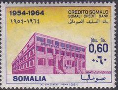 Somalia Scott 273 1964 10th Anniversary Of The Somali Credit Bank, Mint Never Hinged - Somalie (AFIS)