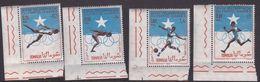 Somalia Scott 274-275 + C95-96 1964 Olympic Games Tokyo, Mint Never Hinged - Somalia (AFIS)