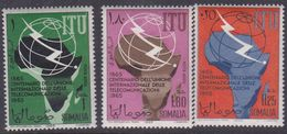 Somalia Scott 278 + C99-100, Mint Never Hinged - Somalia (AFIS)
