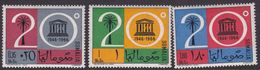 Somalia Scott 299-301 1966 UNESCO 20th Anniversary, Mint Never Hinged - Somalie (AFIS)