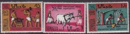 Somalia Scott 347-349 1969 ILO 50th Anniversary, Mint Never Hinged - Somalia (AFIS)